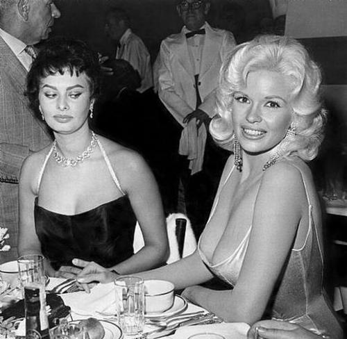 Sophia-Loren-and-Jayne-Mansfield