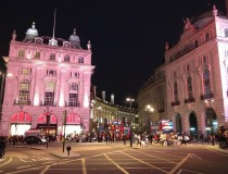 Piccadilly by night
