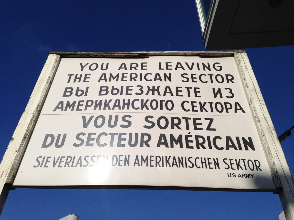 Checkpoint Charlie 2015