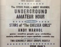Andy Warhol Velvet Underground
