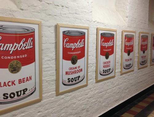 Andy Warhol Tomato Soups Dinant