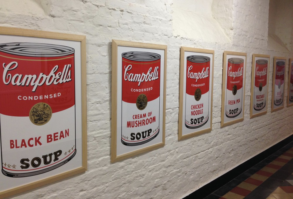 Andy Warhol Tomato Soups Dinant