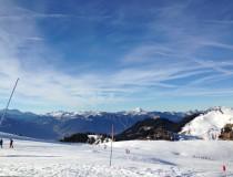 Ski de printemps à Noël